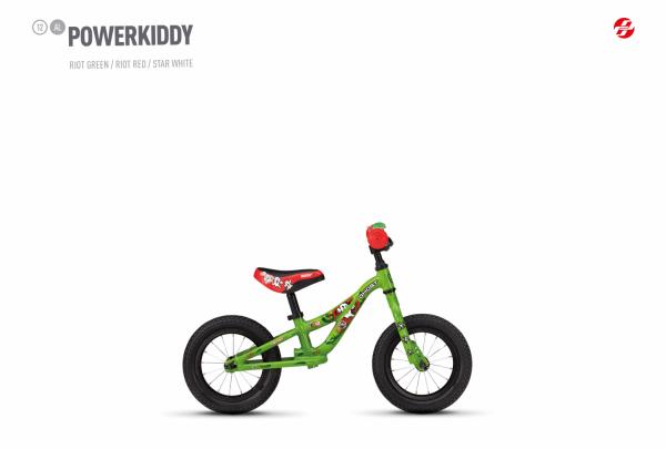 Powerkiddy 12 - Green
