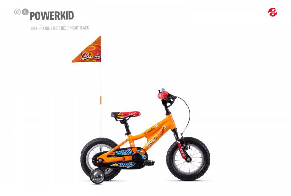 Powerkid 12 - Orange / Red