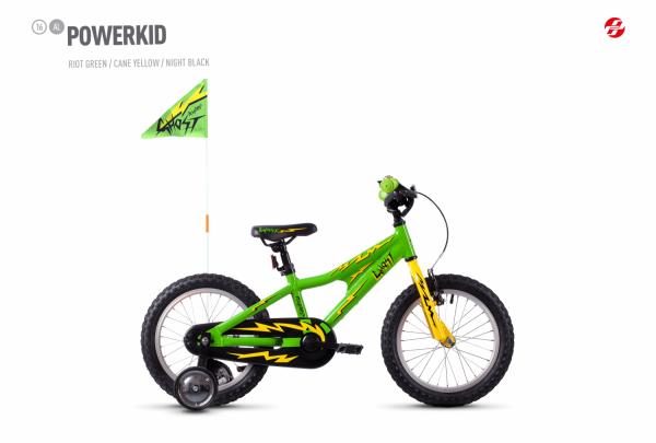 Powerkid 16 - Green / Yellow